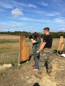 Day 1:  M16 Training, Handling, and Shooting (Mrs. Hilton)