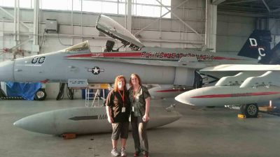Day 1:  F-18 Fighter Jet (Mrs. Pursel & Mrs. Hilton)