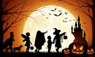 Elementary Halloween Parade