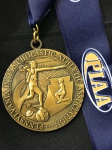 100 Free:  Bronze Medal